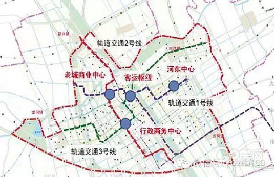 3国小镇2寿春路线图-在城市轨道建设方面,将预控3条城市轨道交通线路.   轨道1号线:依