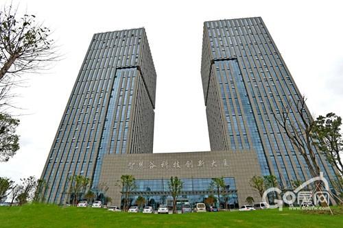 图为智慧科技城智慧谷科技创新大厦.图片