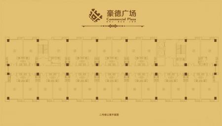 二号楼公寓平面图