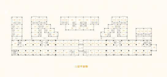 商铺二层平面图