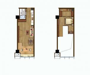 4.5米挑高住宅类
