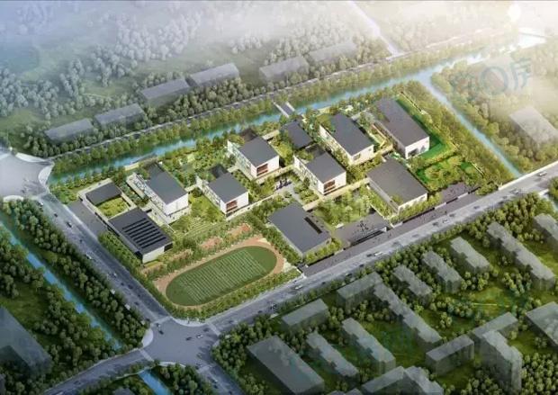 北京师范大学盐城附属学校 幼儿园,小学部,总建设用地面积76407㎡
