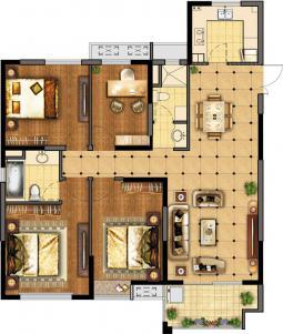 高层公寓-A户型