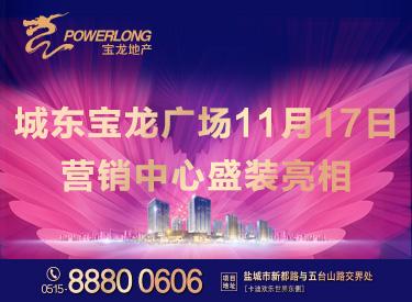 [广告]城东宝龙城市广场|11月17日营销中心开放