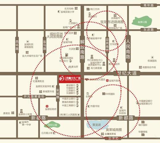 鹽城鳳凰文化廣場