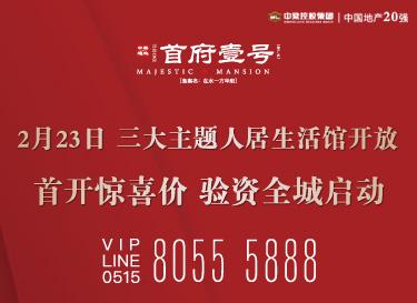 [广告]首府壹号|2月23日三大主题人居生活馆开放