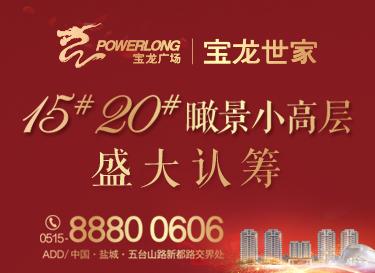 [广告]城东宝龙广场|15#20#瞰景小高层盛大认筹