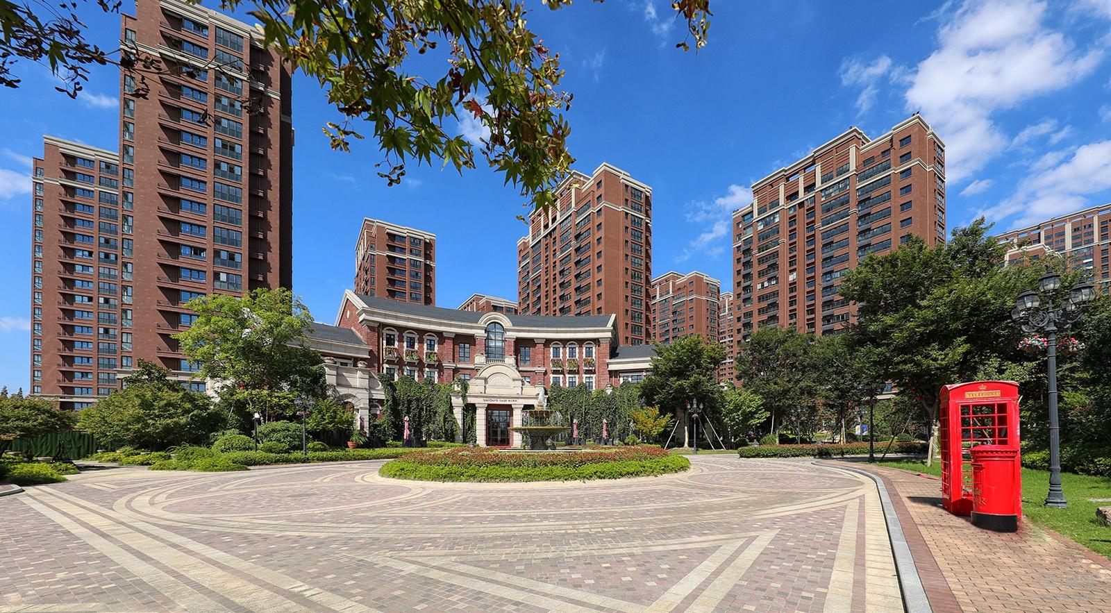 宁波桃园小区风景图