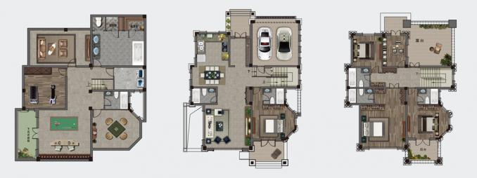 561㎡别墅T5