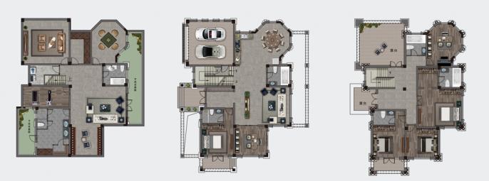 582㎡别墅T4