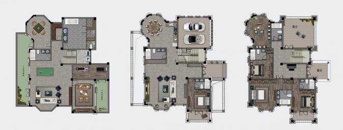 602㎡别墅T1