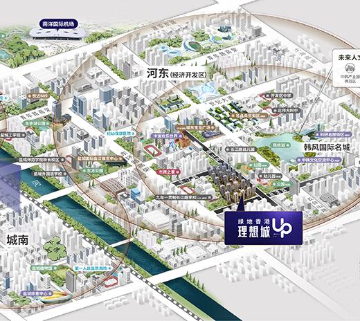 盐城绿地香港理想城
