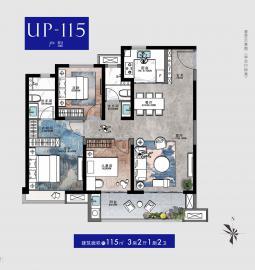 UP-115户型
