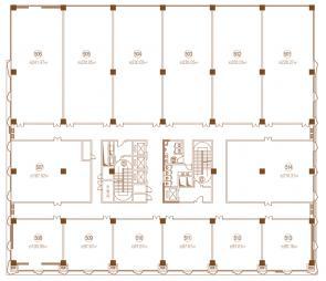 办公5F平面图