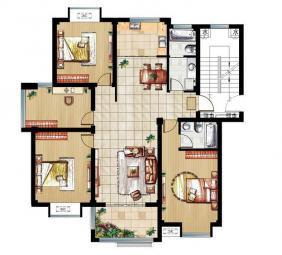 4#楼-137平米户型