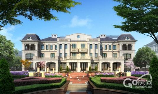 三期联排别墅效果图v别墅别墅视频正确屋面琉璃瓦的图片
