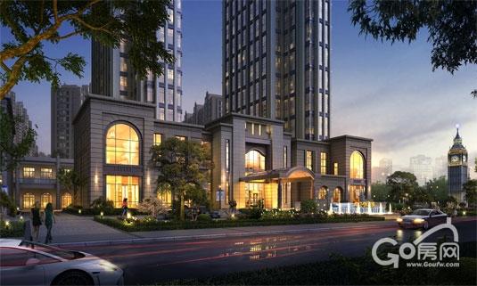 6万方,总建筑78万方,集阔景住宅,臻品公寓,精品商业街区于一体,建成