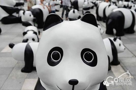 这个中秋,来时代城看大熊猫吧!