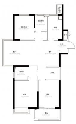7#B户型110.38