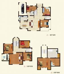 G户型别墅五室三厅三卫