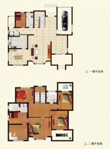 E户型别墅六室两厅三卫