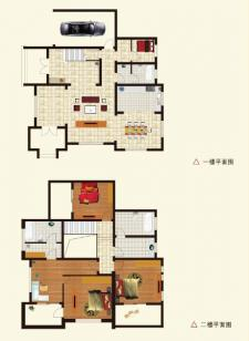 D户型别墅五室两厅三卫