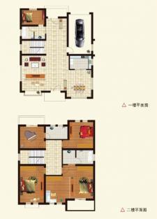 A户型别墅五室两厅两卫