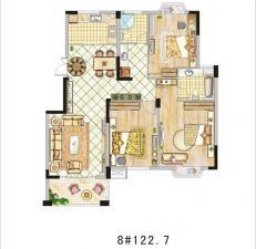 8#三室兩廳兩衛