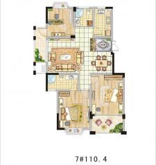 7#三室两厅两卫