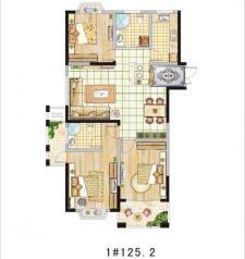 1#三室两厅两卫