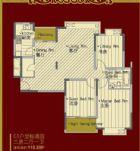 C1户型标准层三房二厅