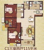C1三室两厅
