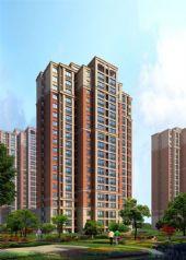 龙桥新园 高层住宅人视图
