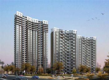 香苑西园32层住宅透视图