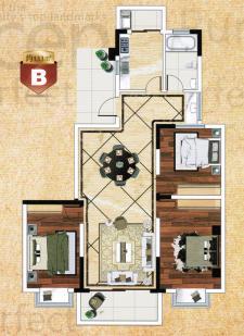 B戶型三房兩廳