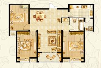 P-2户型三房两厅