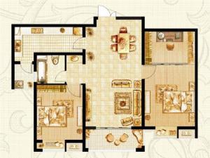 K-2戶型兩室兩廳
