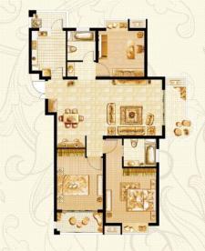K-1戶型三室兩廳