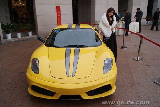 法拉利f430 10月29日 金辉城 名车盛宴 辉耀盐城高清图片
